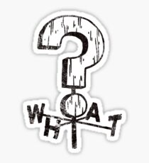 The Mystery Shack Weather Vane Sticker