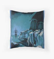 Antarctic Expedition Throw Pillow
