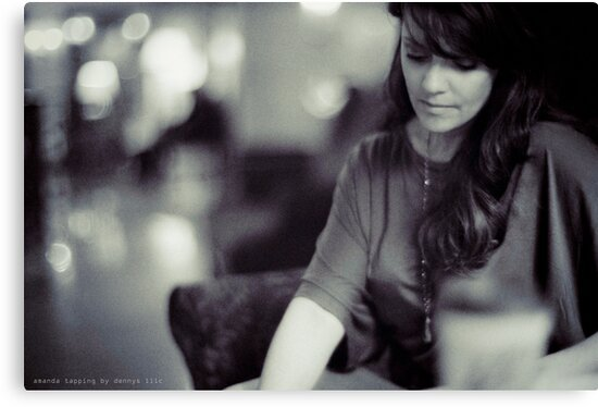 Amanda Tapping vs. Leica - Deep in Thought by Filmart