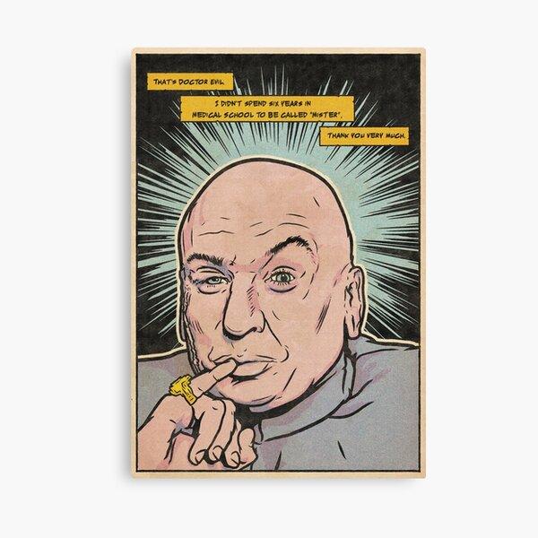 Mike Myers dr evil Canvas Print