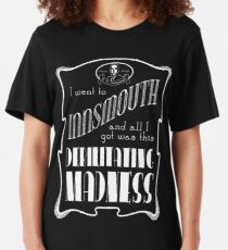 I Went To Innsmouth Slim Fit T-Shirt