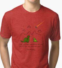 The Saddest Doodle 'Colour'  Tri-blend T-Shirt