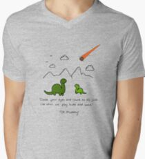 The Saddest Doodle 'Colour'  Men's V-Neck T-Shirt
