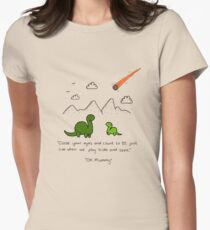 The Saddest Doodle 'Colour'  Women's Fitted T-Shirt
