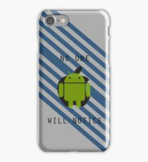I am Android iPhone Case/Skin