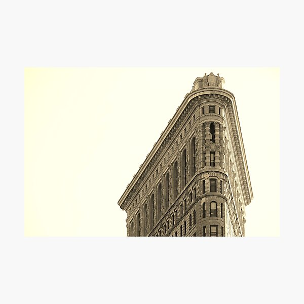 Flatiron  Photographic Print
