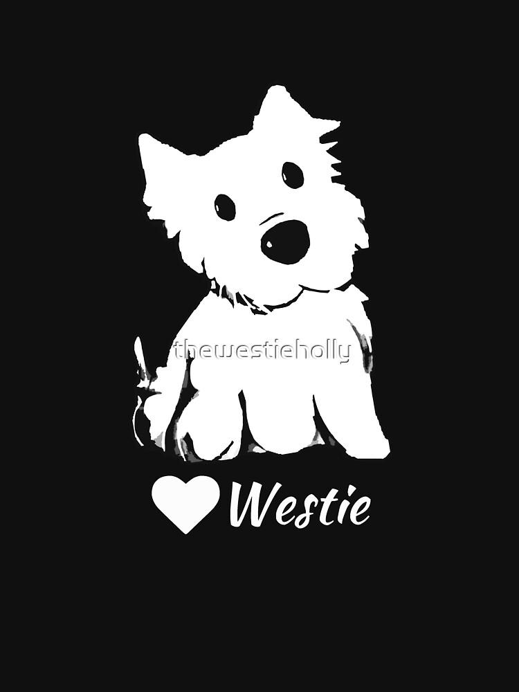 Cute Westie Lover by thewestieholly