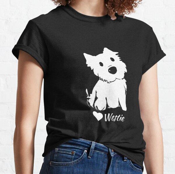 Cute Westie Lover Classic T-Shirt