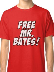 Free Mr. Bates Abbey Downton Classic T-Shirt