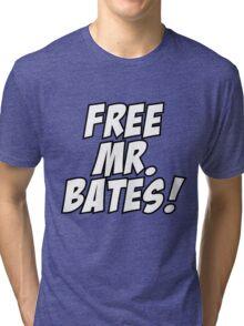 Free Mr. Bates Abbey Downton Tri-blend T-Shirt