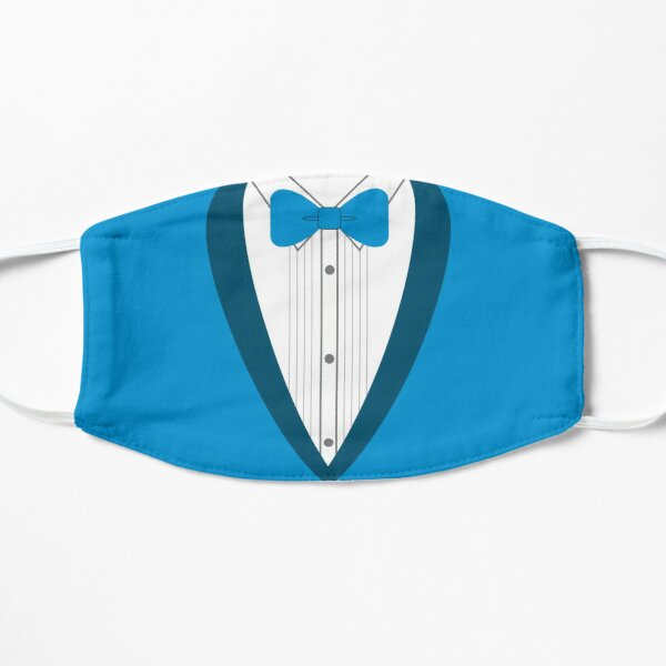Blue Tuxedo Flat Mask