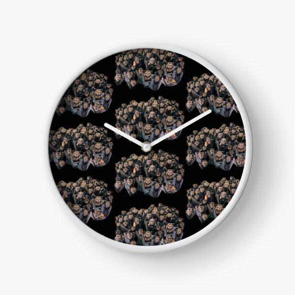 Bat Colony - Who's Looking At Who? Clock
