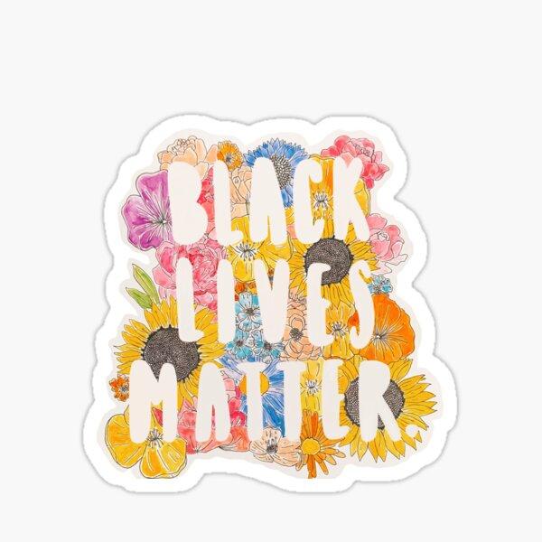 Black Lives Matter. Sticker