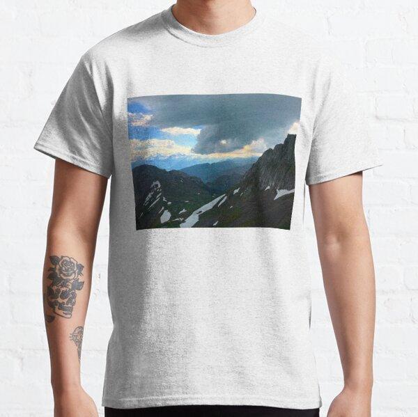 Cloudy Switzerland Classic T-Shirt