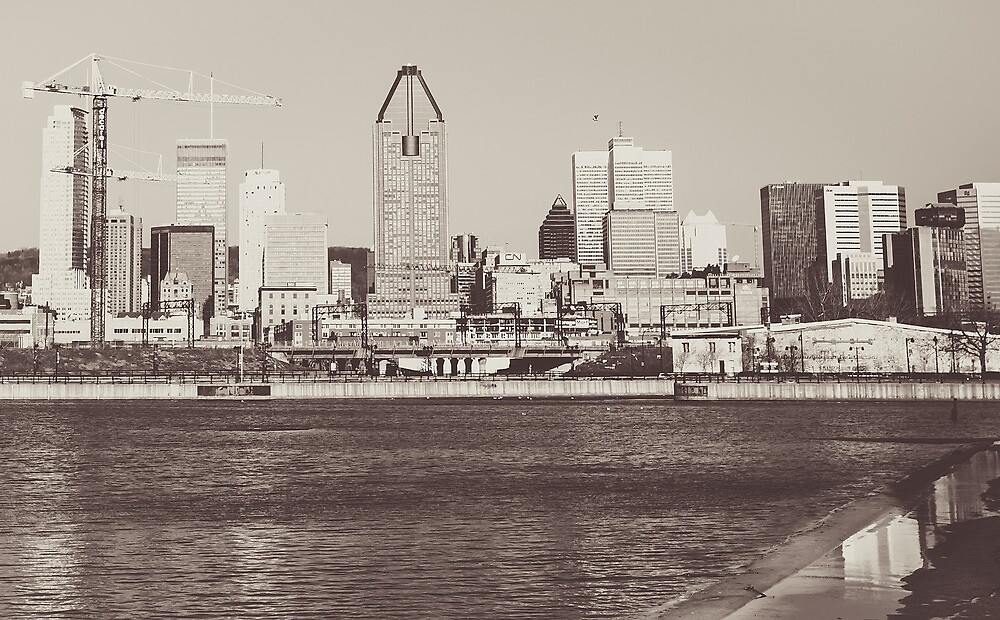 Montreal Black and White by Nicolas Goulet