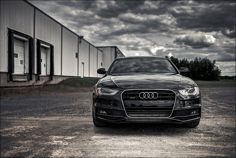 2012 audi a4 s line posters by nicolas goulet redbubble. Black Bedroom Furniture Sets. Home Design Ideas