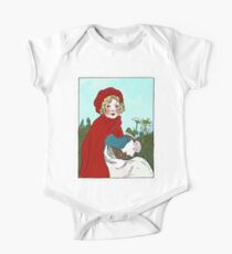 Little Red Riding Hood Painting Kids Clothes