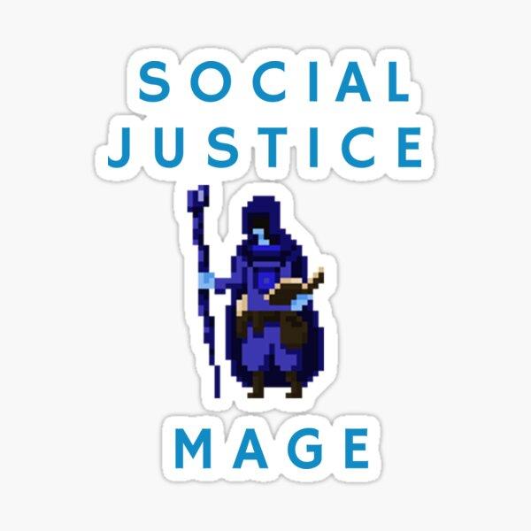 Social Justice Mage Sticker