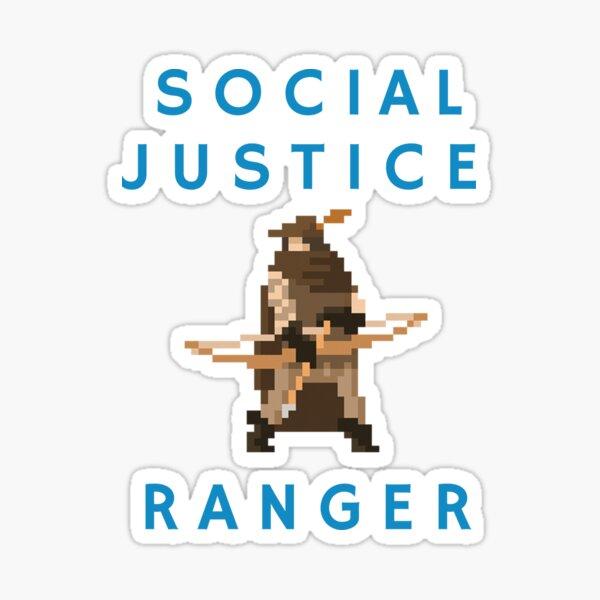Social Justice Ranger Sticker