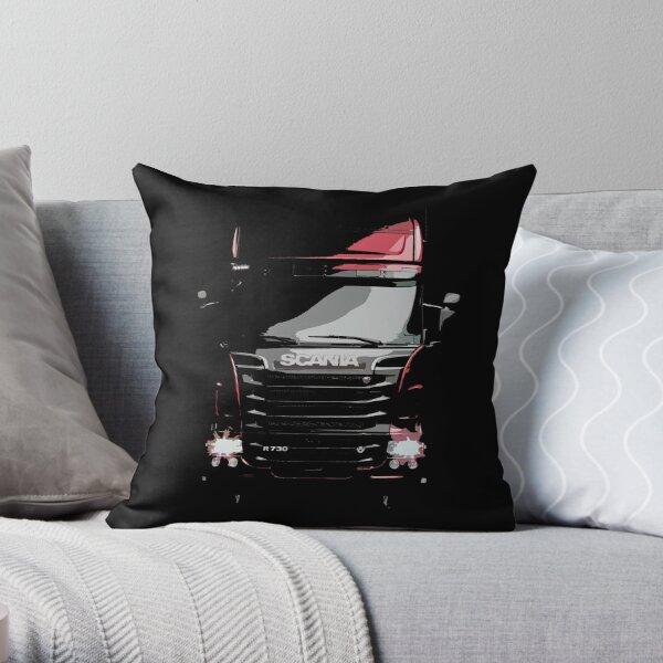 Scania Trucker Throw Pillow