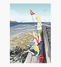 Donsö crab fishers Photographic Print