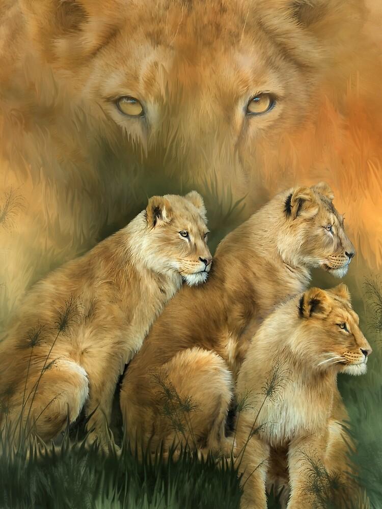 Sisterhood Of The Lions by carolcavalaris