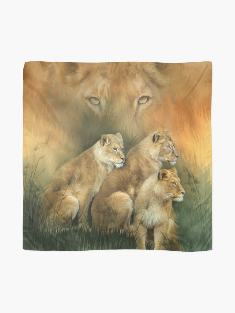 Alternate view of Sisterhood Of The Lions Scarf