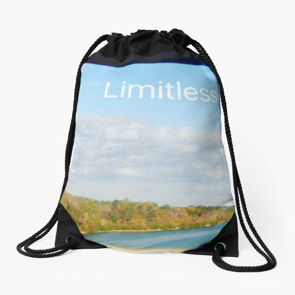 Limitless  Drawstring Bag
