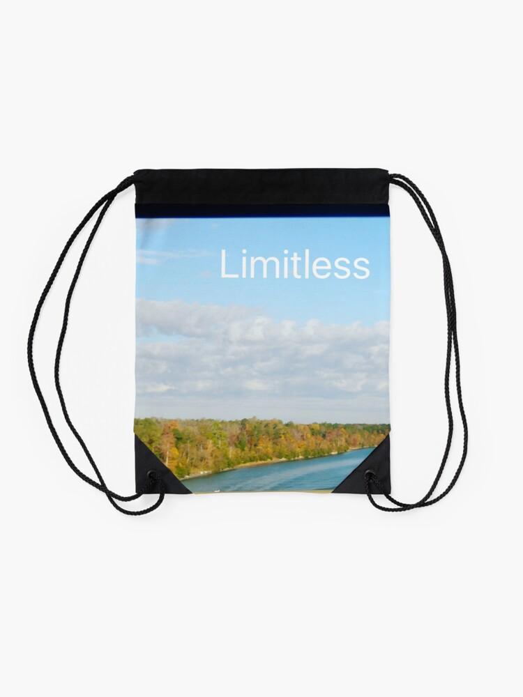 Alternate view of Limitless  Drawstring Bag