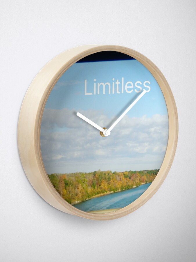 Alternate view of Limitless  Clock