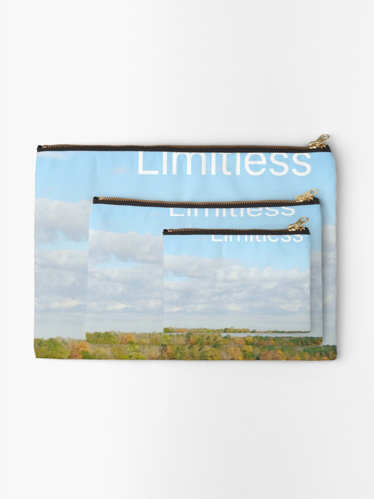 Alternate view of Limitless  Zipper Pouch