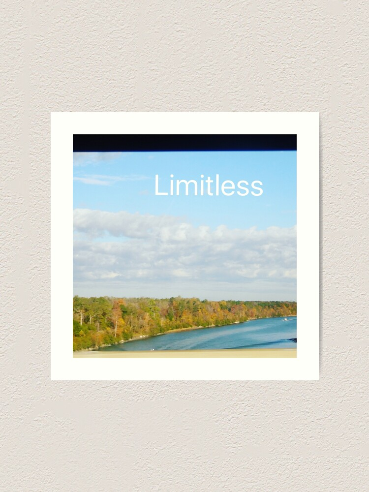 Alternate view of Limitless  Art Print