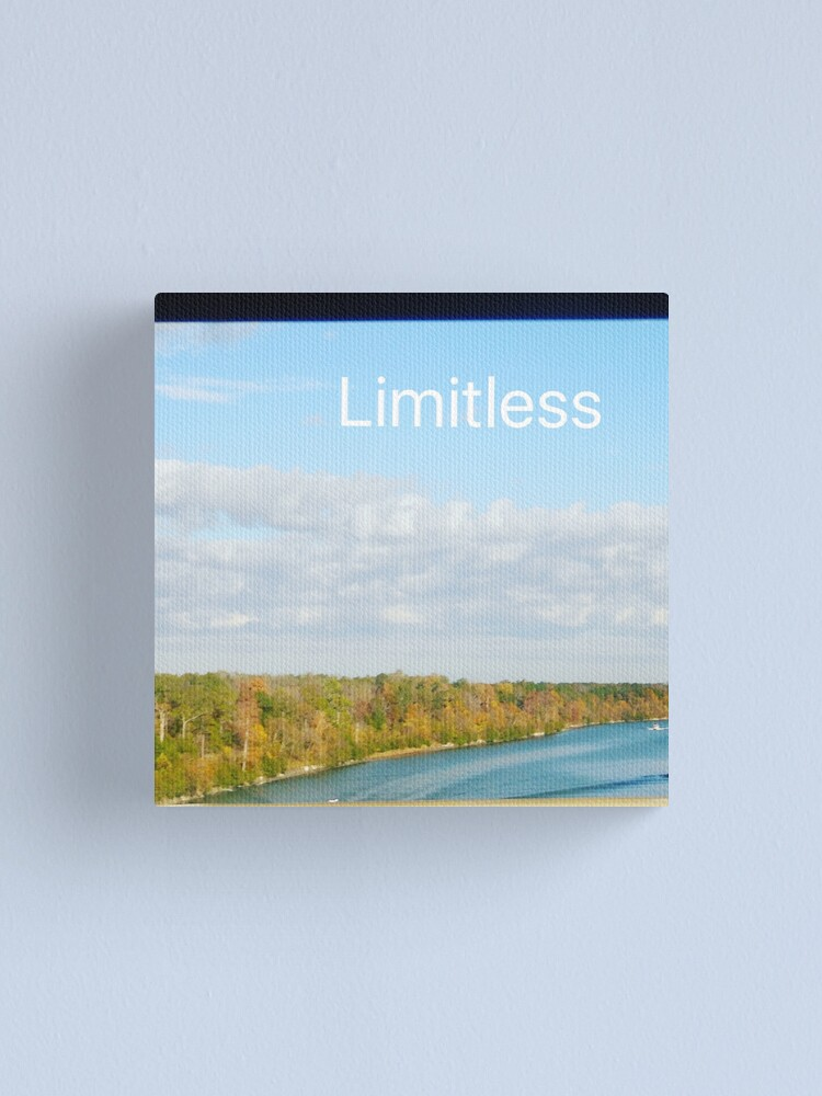 Alternate view of Limitless  Canvas Print