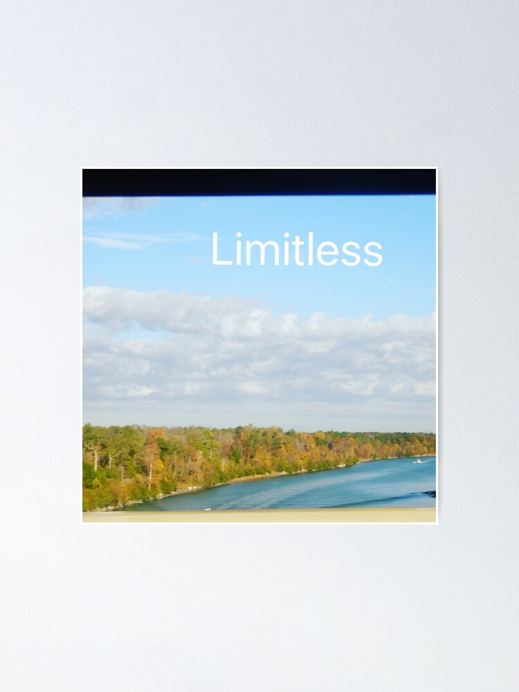 Alternate view of Limitless  Poster