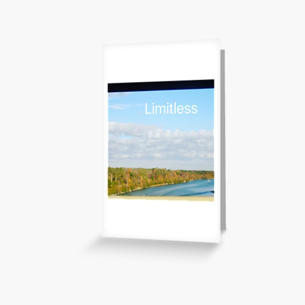 Limitless  Greeting Card
