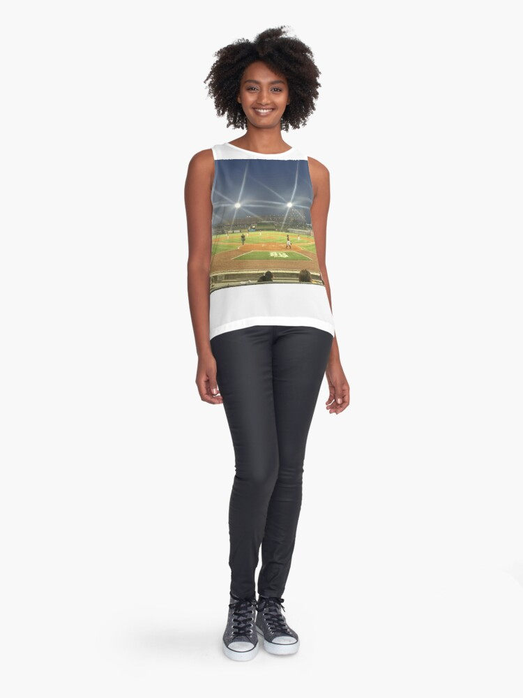 Alternate view of Take Me Out to the Ballgame Collection  Sleeveless Top