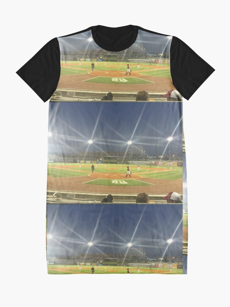 Alternate view of Take Me Out to the Ballgame Collection  Graphic T-Shirt Dress