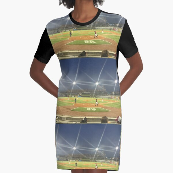 Take Me Out to the Ballgame Collection  Graphic T-Shirt Dress
