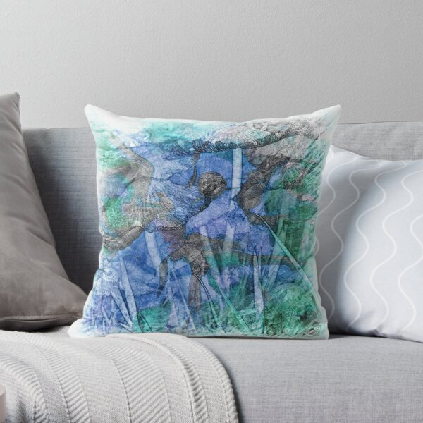 The Atlas Of Dreams - Color Plate 28 Throw Pillow