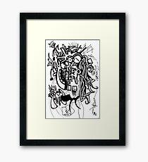 045 Framed Print