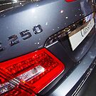 Mercedes-Benz E 250 Turbo Coupé Back [ Print & iPad / iPod / iPhone Case ] by Mauricio Santana