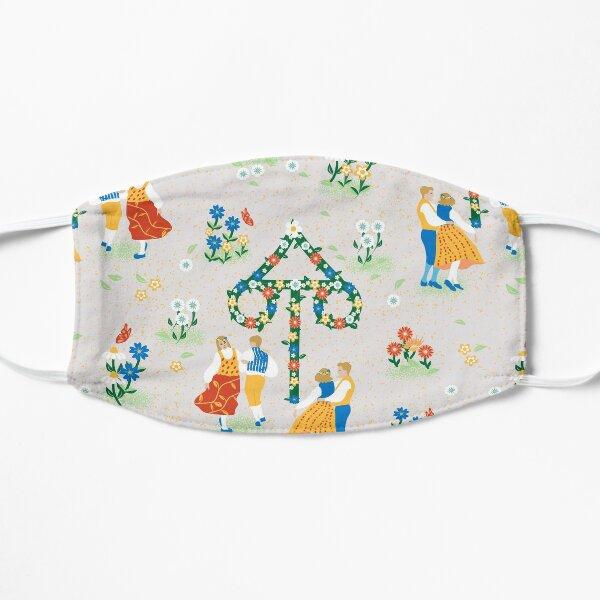 Midsummer Maypole Dance Flat Mask