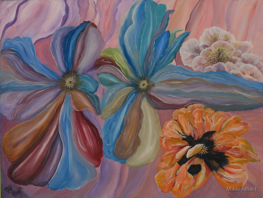 O'Keefe Inspiration by Mikki Alhart