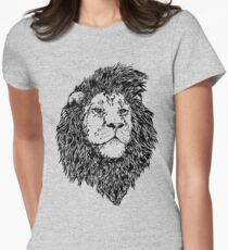 King of the Jungle, Lion in Black & White  T-Shirt