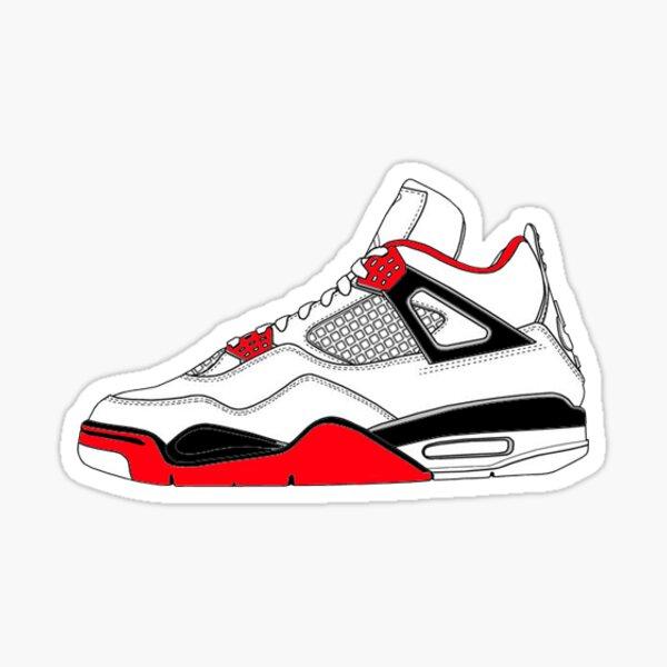 Nike Air Jordan 4 Sticker