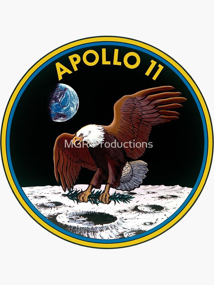 Apollo 11 Mission Logo by Quatrosales