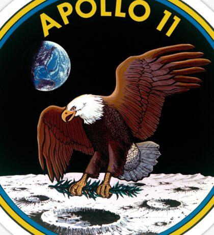Apollo 11 Mission Logo Sticker