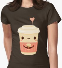 Coffee Coffee Women's Fitted T-Shirt