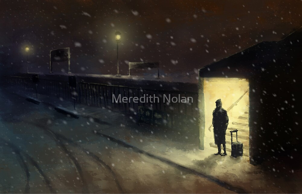 Train Station by Meredith Nolan