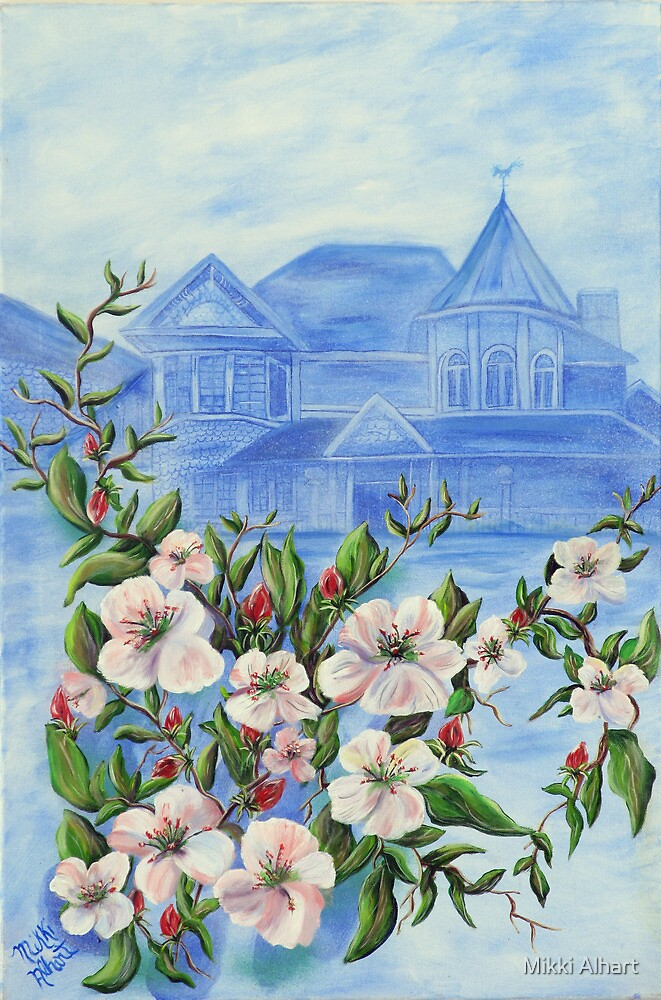 Apple Blossom by Mikki Alhart